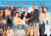 Our Managing Director Mr. Shravan Rewari Awarded with Sailor Today Entrepreneur of the Year